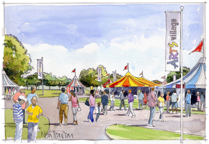 Kensington Gardens Event