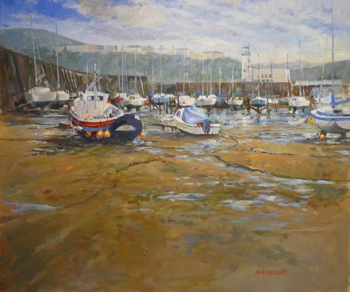 Scarborough Harbour Low Tide