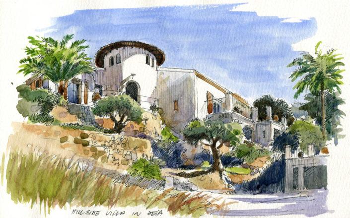 A Villa Near Deia